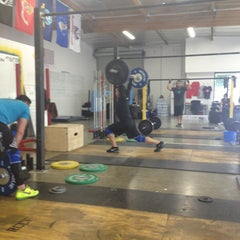 Photo taken at RC CrossFit by Lisa E. on 1/26/2013
