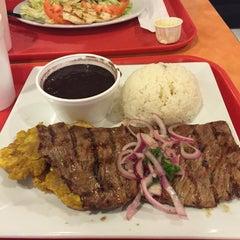 Photo taken at La Granja Restaurant by Alejandro R. on 1/31/2015