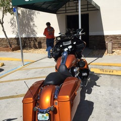 Photo taken at Jim's Harley-Davidson of St. Petersburg by Michael on 2/21/2015