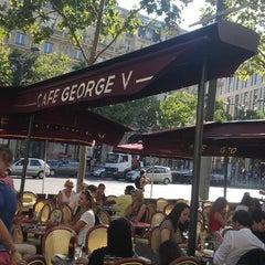 Photo taken at Café George V by Kanchan V. on 8/11/2013