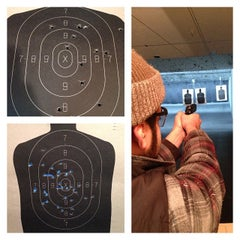 Photo taken at The Bullet Hole by Thomas C. on 11/24/2013
