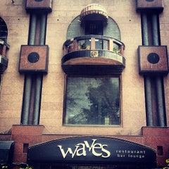 Photo taken at Waves Restaurant by Georgi N. on 3/28/2013