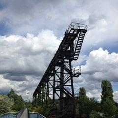 Das Foto wurde bei Landschaftspark Duisburg-Nord von David T. am 6/27/2013 aufgenommen