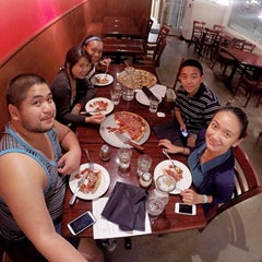 Photo taken at Kylie's Chicago Pizza by Christie on 9/16/2014