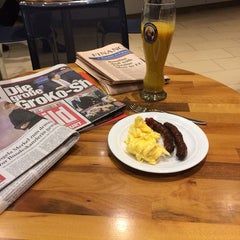 Photo taken at Lufthansa Welcome Lounge (Arrival Lounge) by Patrick N. on 12/18/2013