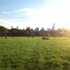 Photo taken at Great Lawn - Central Park by Dat on 10/14/2012