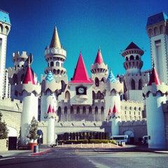 Photo taken at Excalibur Hotel & Casino by Sarah K. on 2/15/2013
