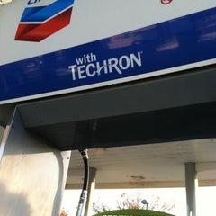 Photo taken at Chevron by Georgia F. on 11/18/2011
