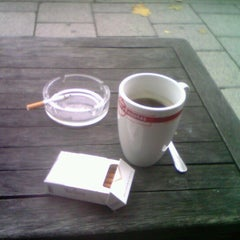 Photo taken at Batty Baristas Coffee Shop by Ilya F. on 11/14/2012