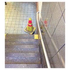 Photo taken at MTA Subway - Spring St (6) by Gabriel R. on 10/19/2015