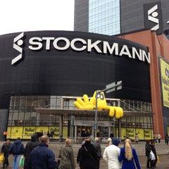 Photo taken at Stockmann by Anastassia K. on 4/14/2013