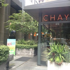 Photo taken at Chaya by Elleen on 7/26/2013