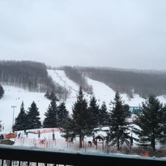 Photo taken at Holiday Valley Resort by Erik S. on 3/2/2013