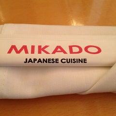 Photo taken at Mikado by Nichole on 10/27/2012