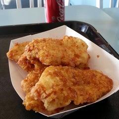 Photo taken at BonChon Chicken by MIKΞ G. on 2/13/2013
