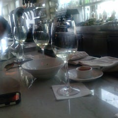 Photo taken at the C restaurant + bar by Leslie on 7/5/2013