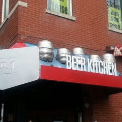Photo taken at Beer Kitchen No. 1 by Ayasha M. on 4/21/2013