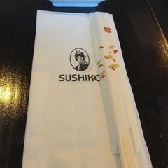 Photo taken at Sushiko Japanese Grill by Jennifer S. on 8/12/2014