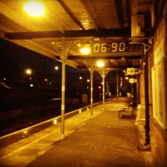 Photo taken at Frinton-on-Sea Railway Station (FRI) by Su B. on 12/12/2013