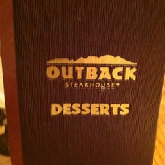 Photo taken at Outback Steakhouse by Ramona W. on 12/20/2012