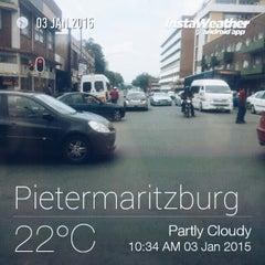 Photo taken at Pietermaritzburg (CBD) by Thapelo C. on 1/3/2015