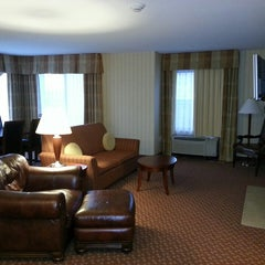 Photo taken at Hilton Garden Inn by Bennett P. on 4/21/2013