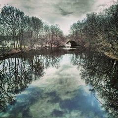 Photo taken at Mystic River Reservation by Ryan R. on 4/13/2014