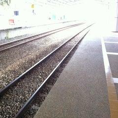 Photo taken at KTM Line - Bandar Tasik Selatan Station (KB04) by Fatin Najiha on 11/14/2012