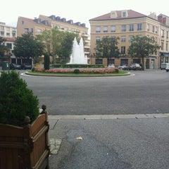 Photo taken at Place Ronde - Montchat by Fabien G. on 9/25/2012