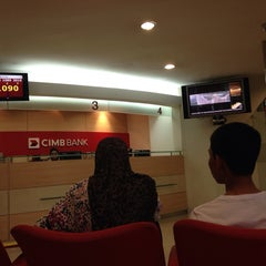 Photo taken at CIMB Bank by Shahzad A. on 5/22/2014