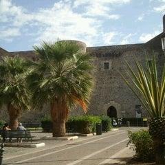 Photo taken at Castello Ursino by Dimitri A. on 10/1/2012