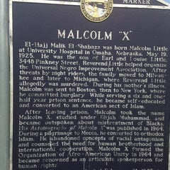 Photo taken at Malcolm X  Birthsite by Greg on 5/31/2014