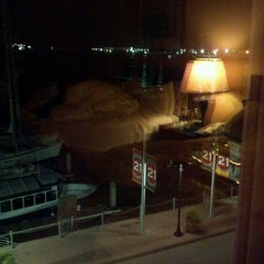Photo taken at Harbor House Hotel & Marina at Pier 21 by Shora H. on 7/5/2013