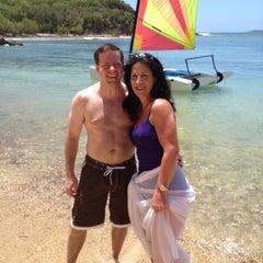 Photo taken at Bolongo Bay Beach Resort by Jeremy D. on 4/23/2013