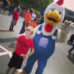Photo taken at Tennessee Valley Fair by Greg E. on 9/13/2014