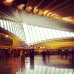 Photo taken at Aeropuerto de Bilbao (BIO) by Juan Carlos S. on 7/10/2013