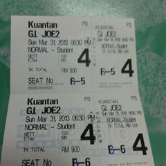 Photo taken at BIG Cinemas by Fh*NruL W. on 3/31/2013