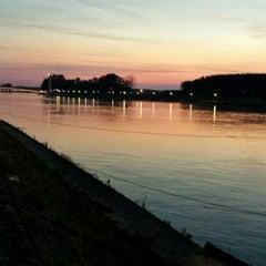 Photo taken at Osječka promenada by Aleksandra on 6/1/2015