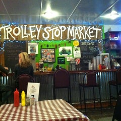 Photo taken at Trolley Stop Market by Travis on 1/19/2013