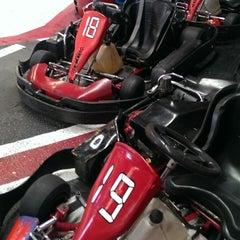 Photo taken at Fórmula Karting Granada by Jordi S. on 2/15/2014