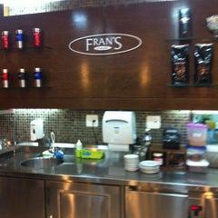 Photo taken at Fran's Café by Renato C. on 10/12/2012