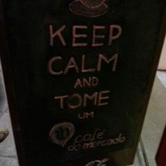 Photo taken at Café do Mercado by Vitor C. on 11/16/2012
