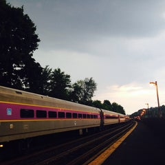Photo taken at Newtonville MBTA Commuter Rail by Doug N. on 8/26/2014