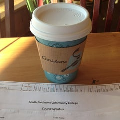 Photo taken at Caribou Coffee by Keia P. on 1/20/2013