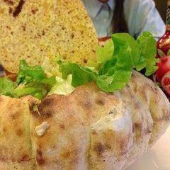 Photo taken at Pizzeria Corte Farina by Meri M. on 1/16/2014