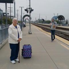 Photo taken at Metrolink Burbank-Bob Hope Airport Station by John V. on 6/1/2015