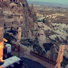 Photo taken at Argos In Cappadocia by Melike G. on 9/26/2015