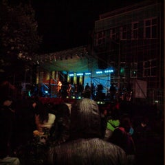 Photo taken at Plaza de Armas de Fresia by Diego O. on 2/13/2013