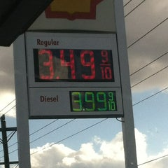 Photo taken at Shell by Samuel H. on 2/16/2013