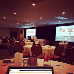 Photo taken at Delta Winnipeg Hotel by Kyle L. on 9/26/2014